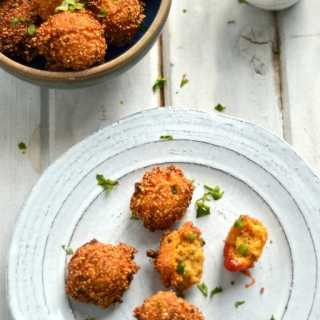 Scallion Cilantro Hushpuppies