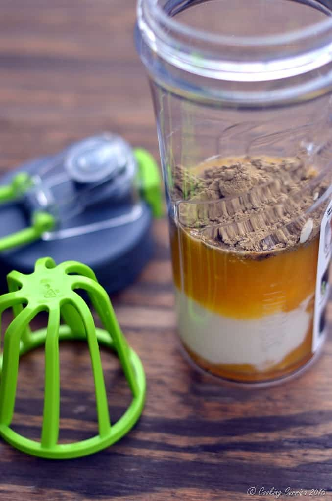 Vanilla Mango Lassi Protein Shake (3)