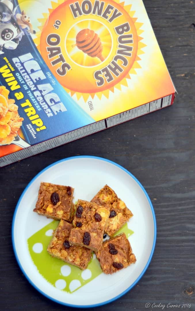 5 Ingredient Peanut Butter Chocolate Chips Cereal Bars - Little People Food - www.cookingcurries.com (10)