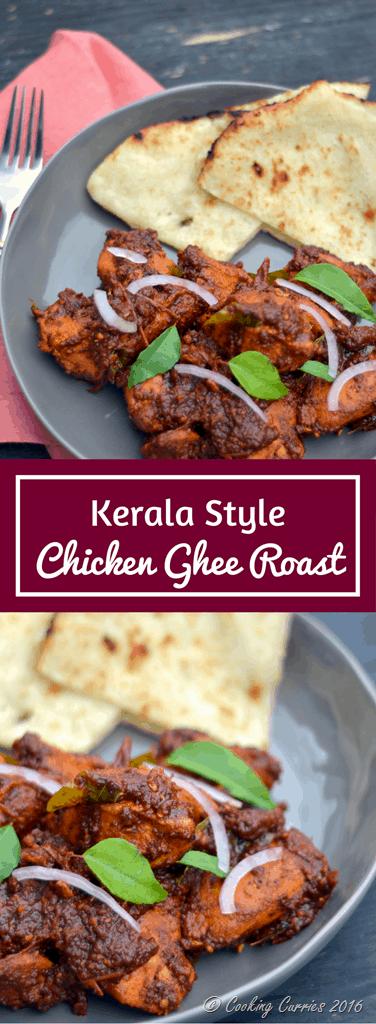 Kerala Style Chicken Ghee Roast - www.cookingcurries.com