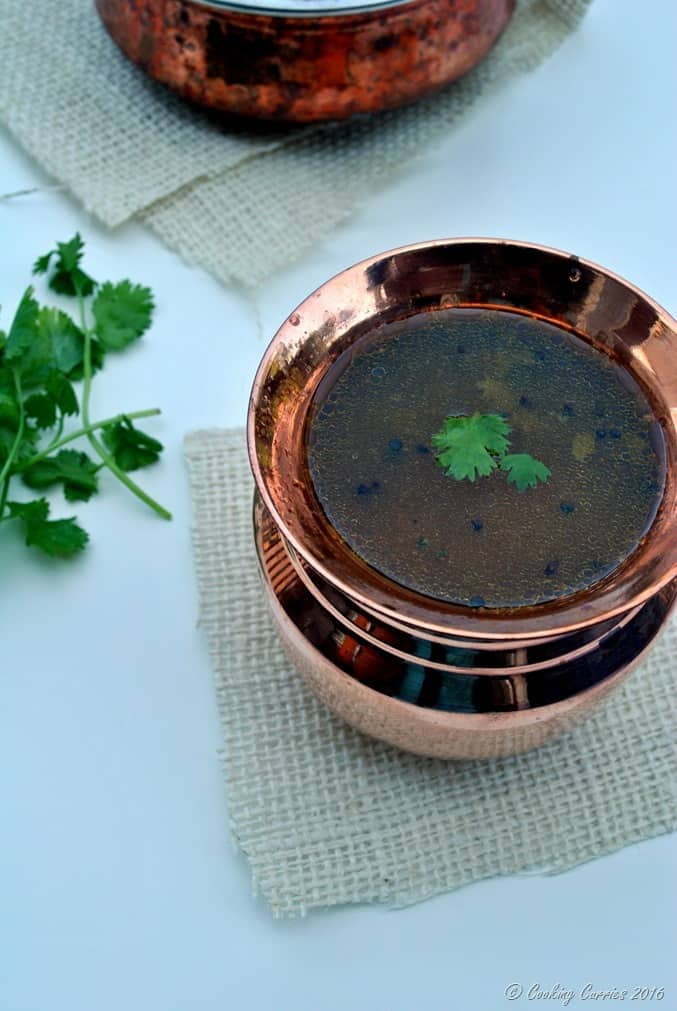 Tomato Pepper Rasam - Kerala Sadya Recipe - www.cookingcurries.com (2)