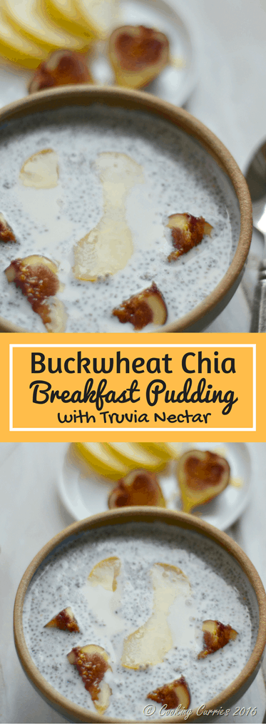 Buckwheat Chia Breakfast Pudding with Truvia Nectar