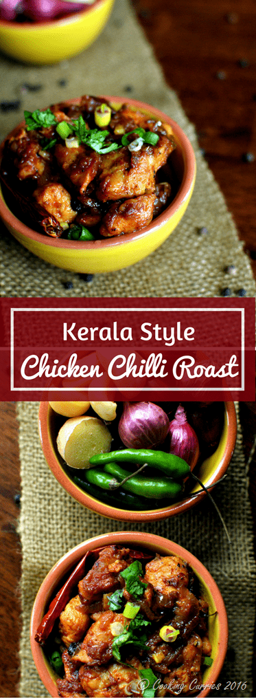 Kerala style chicken chilli roast cooking curries kerala style chicken chilli roast forumfinder Image collections