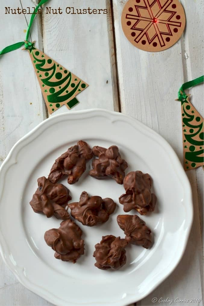 Nutella Nut Clusters