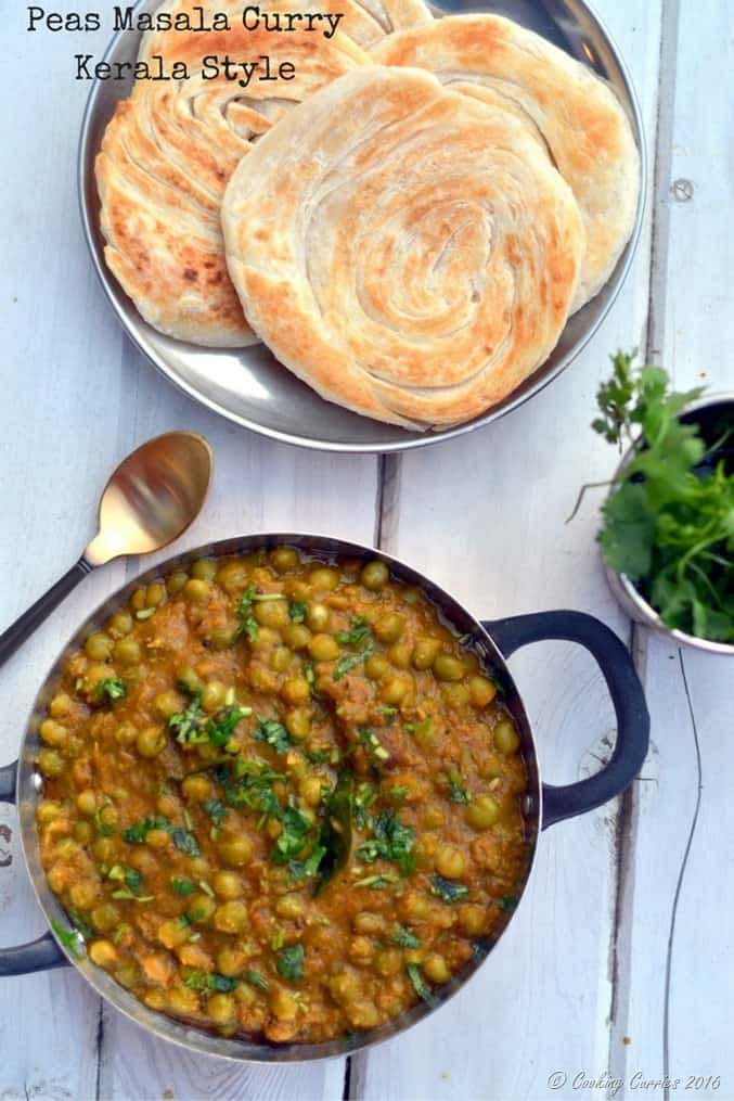 Peas Masala Curry - Kerala Style