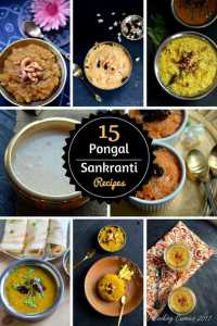 Pongal–Sankranti Recipes | A Collection