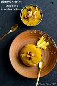 Mango Kesari – Mango and Semolina Pudding