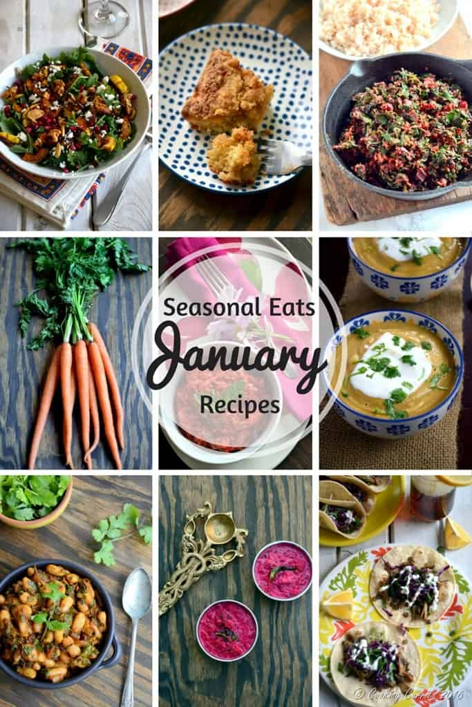 Produce in Season - January - Seasonal Eats - Seasonal Recipes - Cooking Curries (2)
