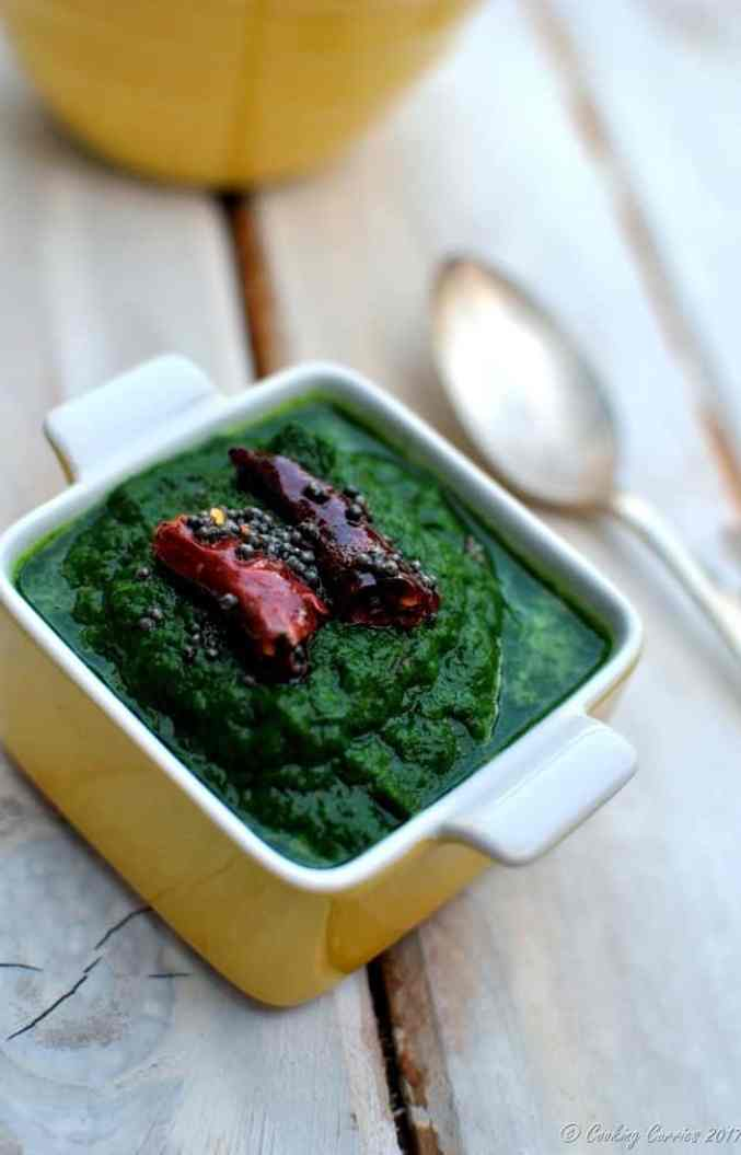 Keerai Masiyal - South Indian Style Spinach Mash - Vegan Gluten Free (5)