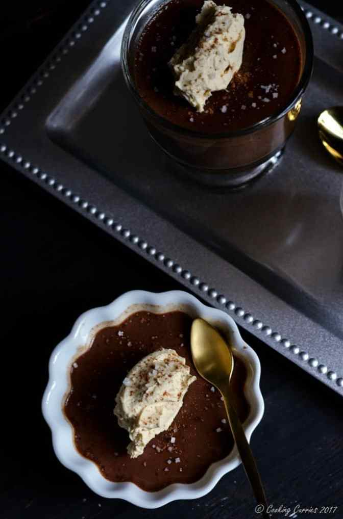 Sea Salt Dark Chocolate Panna Cotta with Kahlua Mascarpone (4 of 9)