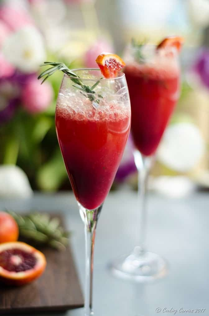 Blood Orange Mimosas with Rosemary and Vanilla (2 of 6)