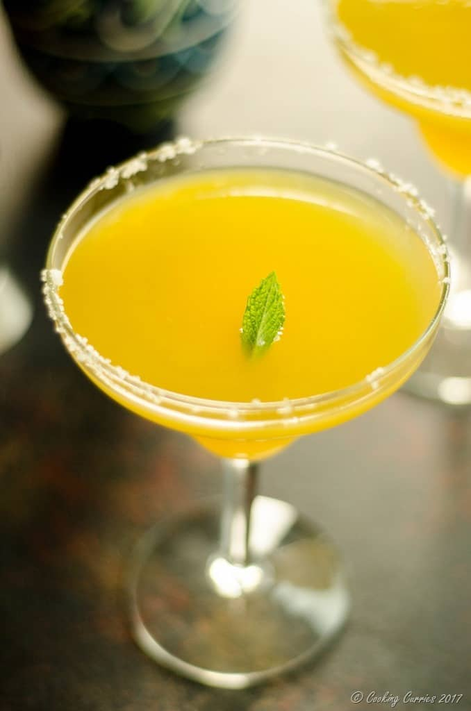 Ginger Mango Mint Margarita (1 of 6)