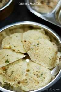 Instant Rava Idli – A South Indian Breakfast Recipe