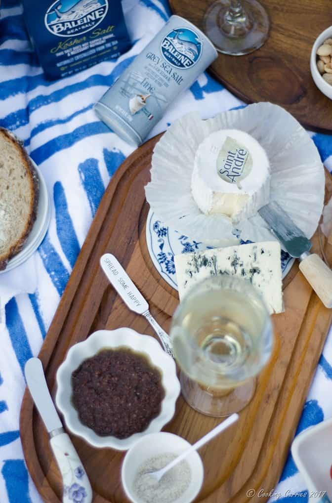 French Backyard Picnic - Warm Mushroom Salad Recipe (7 of 10)