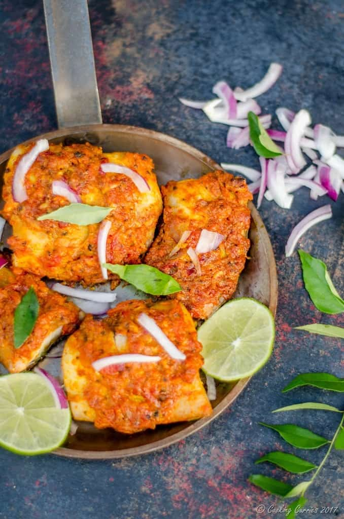 Kerala Style Spicy Baked Fish - Baked Fish Fry (4 of 5)