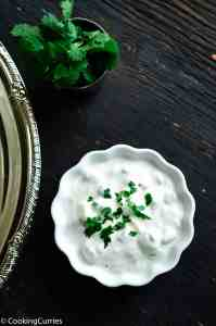 Onion Cucumber Raita