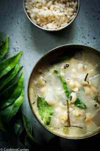 Instant Pot Olan – Winter Melon and Black Eyed Peas Curry with Coconut Milk