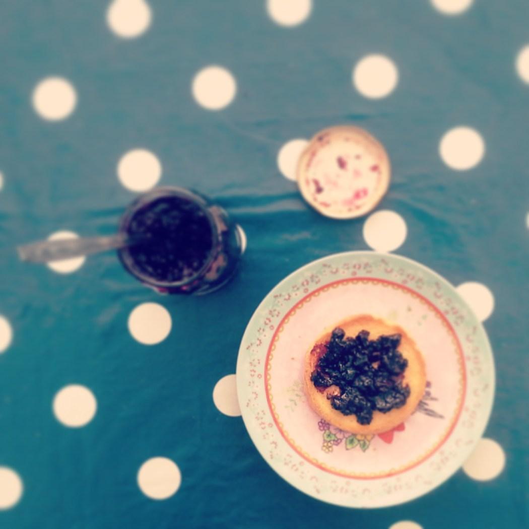 Blauwe bessen Limoncello Jam