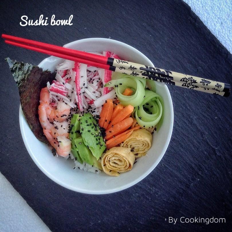 Foto van Sushi bowl by Cookingdom