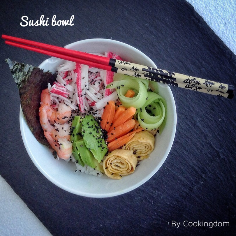 Foto van Sushi bowl by Cookingdom