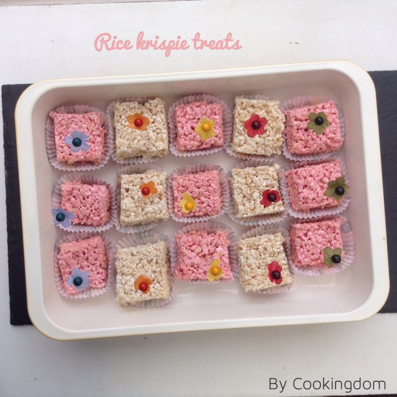 Rice krispie treats by Cookingdom