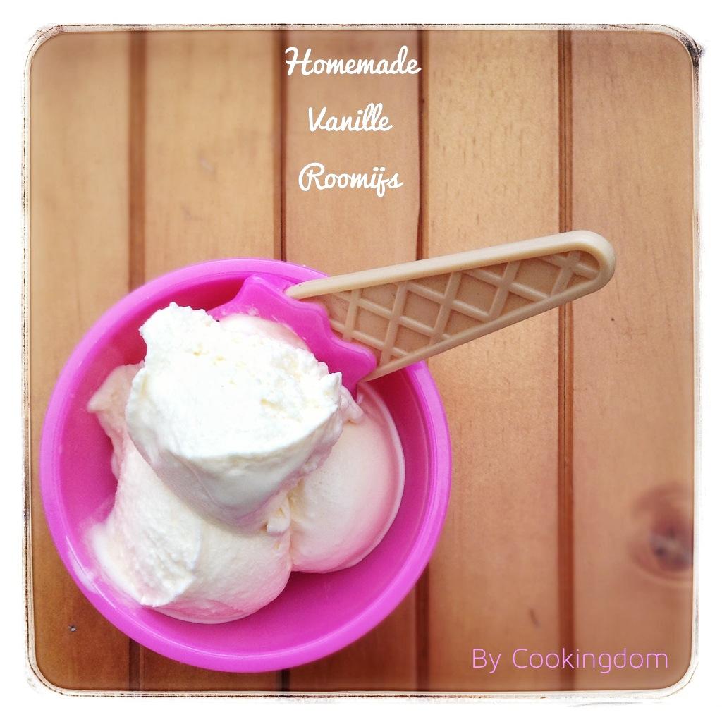 Vanille roomijs By Cookingdom