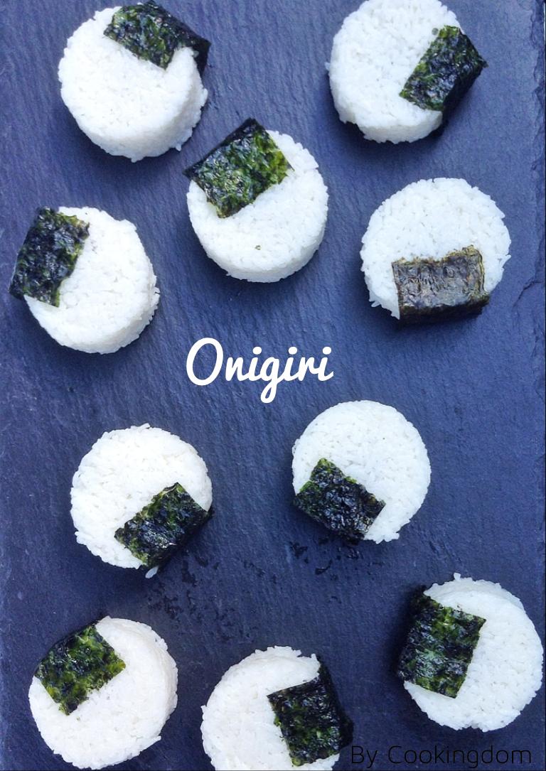 Onigiri (rijstballen) met vulling