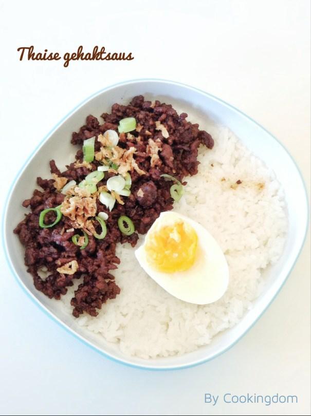 Thaise gehaktsaus By Cookingdom