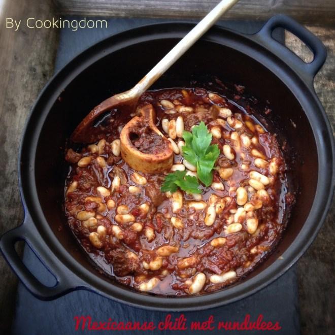 Mexicaanse chili met rundvlees