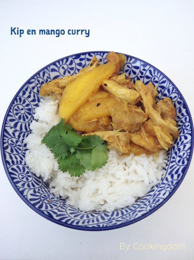 Kip en mango curry