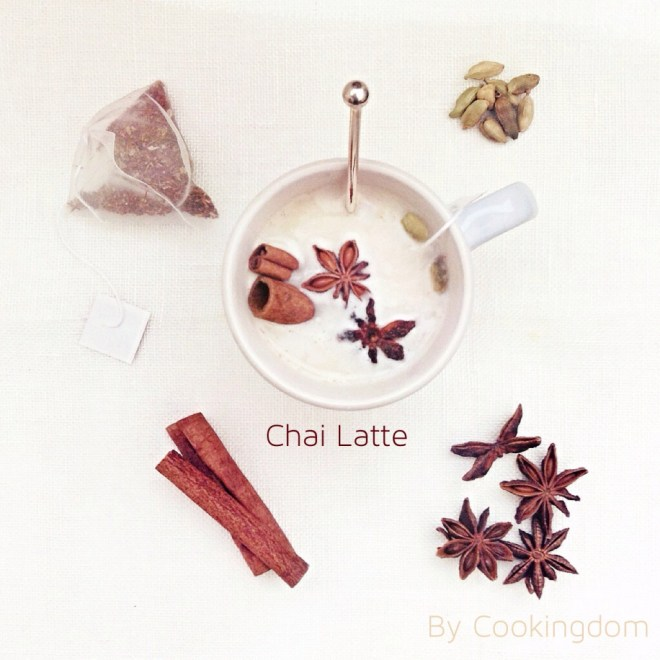 Chai Latte By Cookingdom