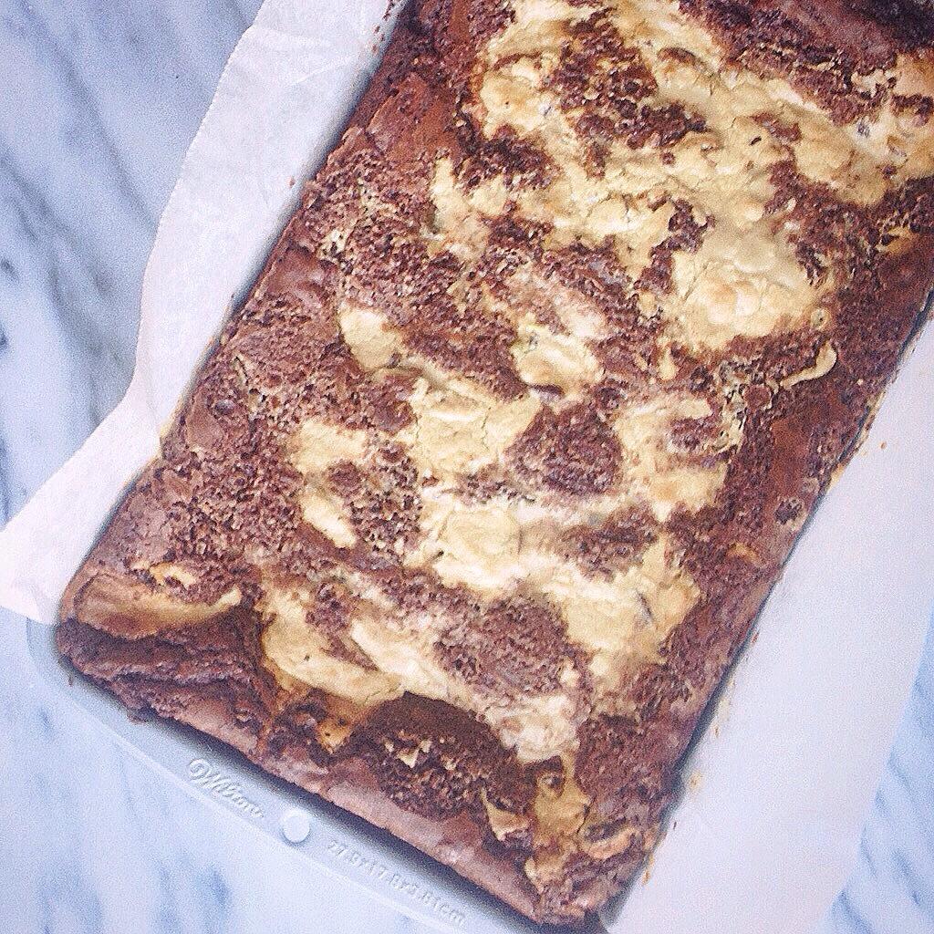 Tahin en Halva brownie