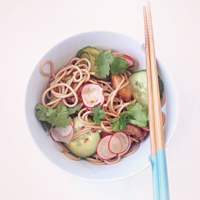 Soba noedel salade By Cookingdom