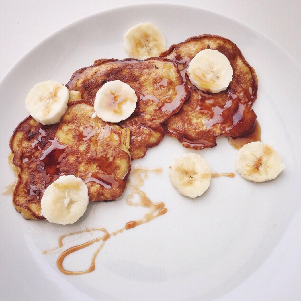 bananenpannenkoekjes met slechts 2 ingrediënten