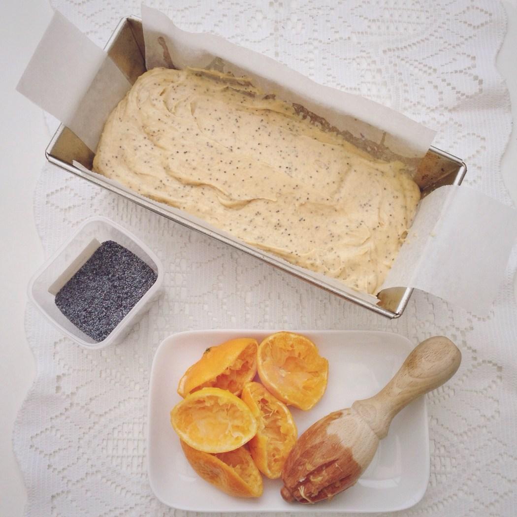 Mandarijn en maanzaad cake By Cookingdom