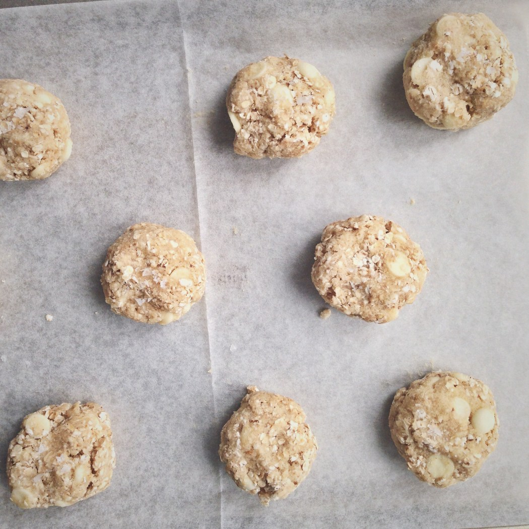 Havermout koekjes met witte chocolade, by Cookingdom