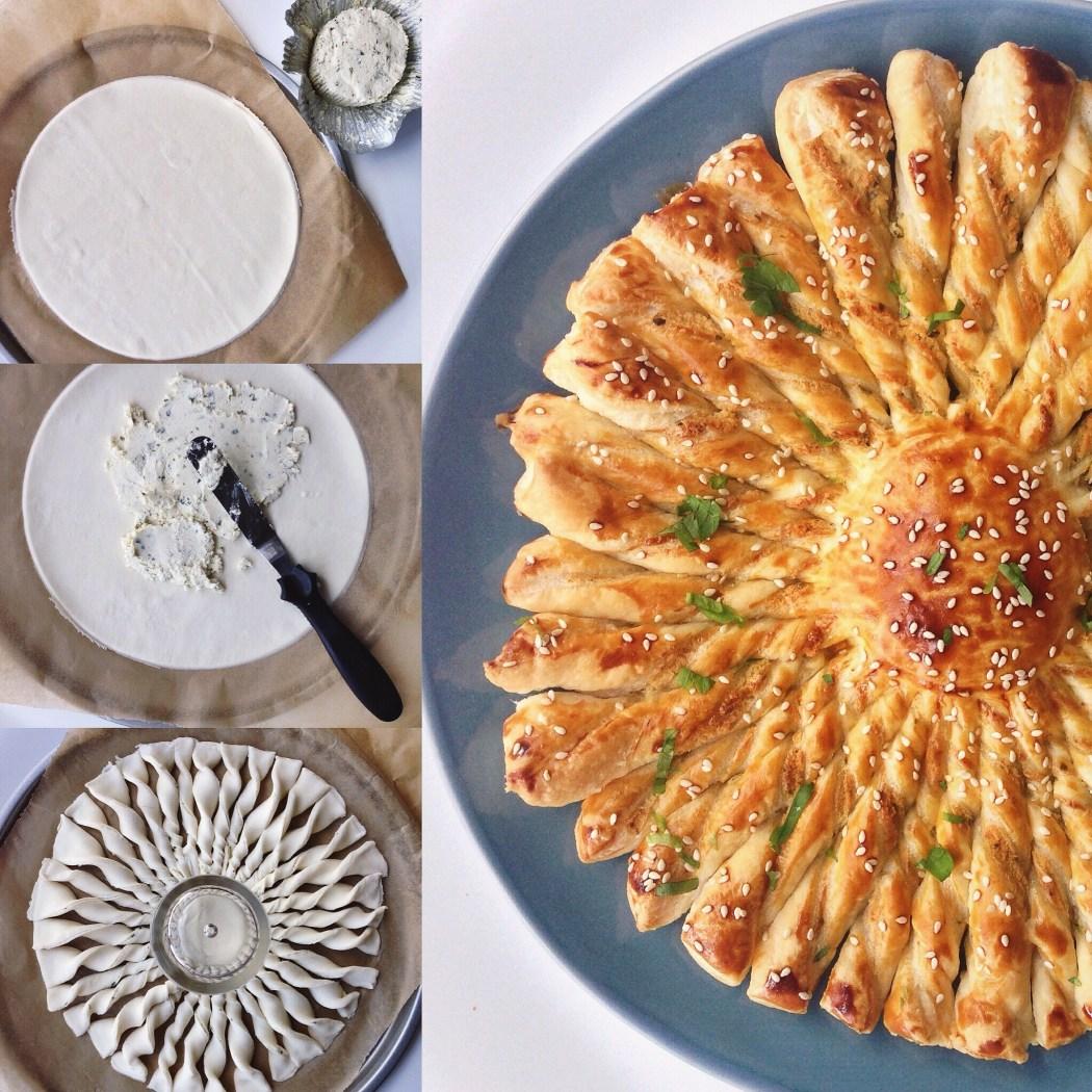 Tarte soleil by Cookingdom