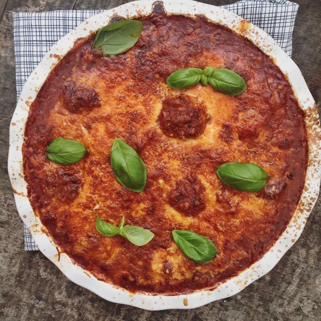 Gehaktballen in tomatensaus uit de oven, by Cookingdom