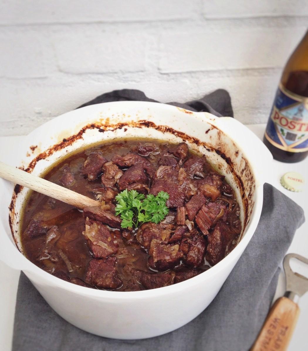 Stoofvlees met trappistenbier en specerijen, by Cookingdom