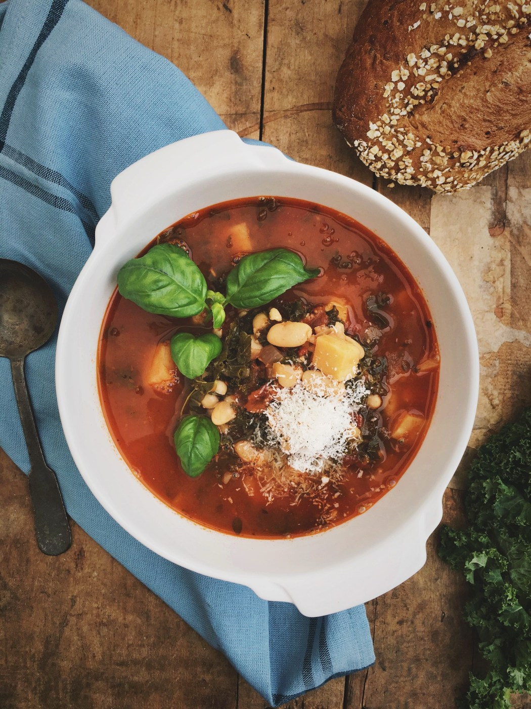 Winter minestronesoep