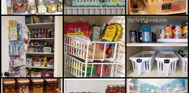 Organising Your Pantry with Kmart - Cooking for Busy Mums