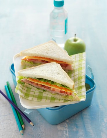 Delux Ham & Cheese Sandwich
