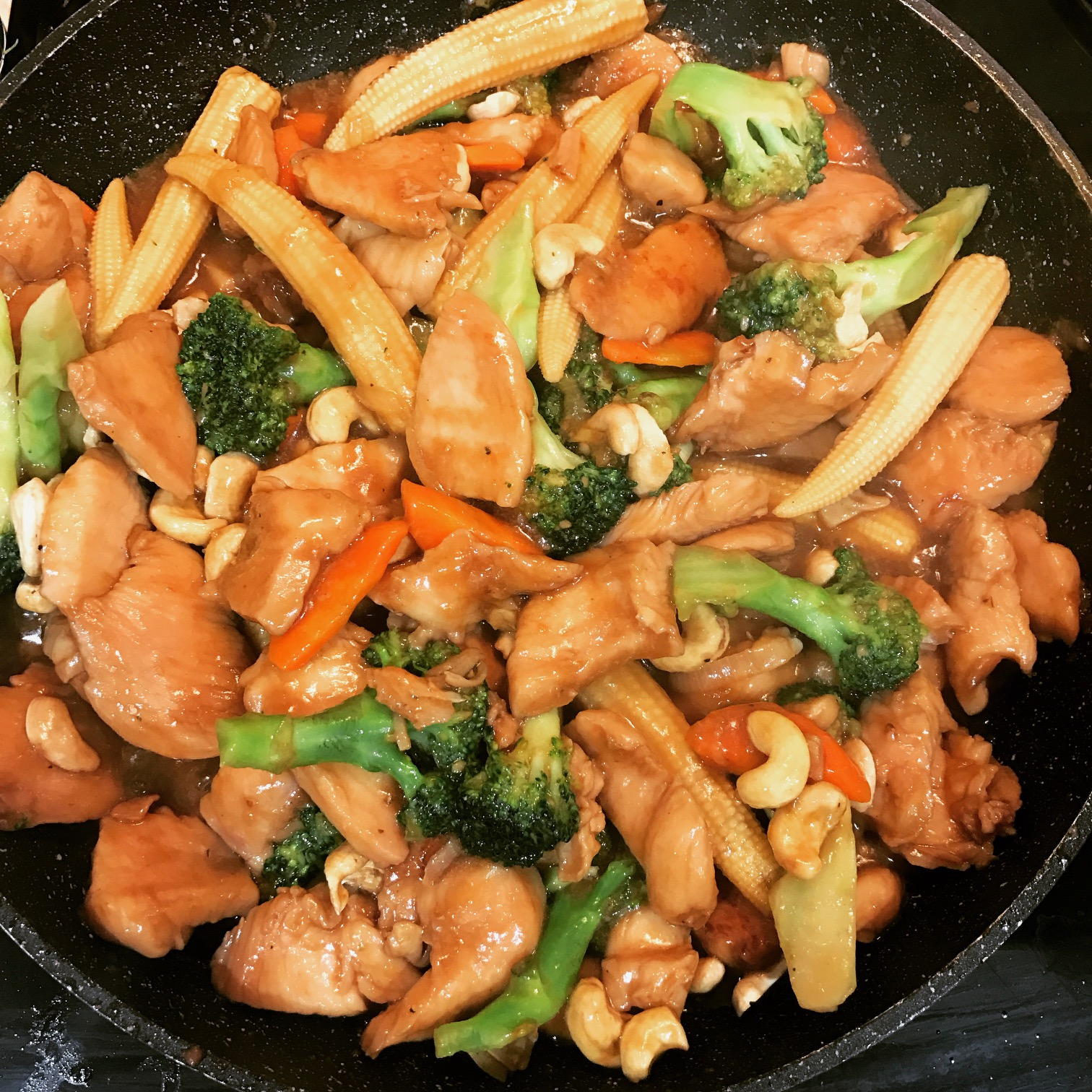 Chinese Chicken and Cashew