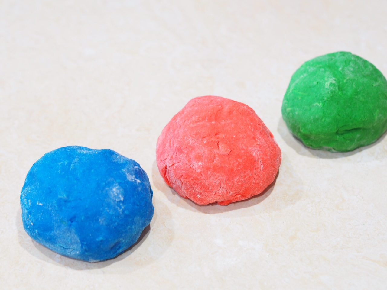 Microwave Play dough Recipe