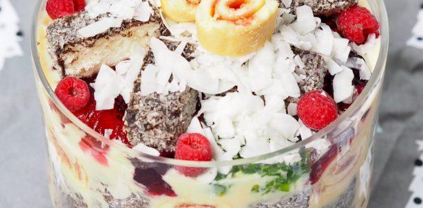 Lamington Trifle