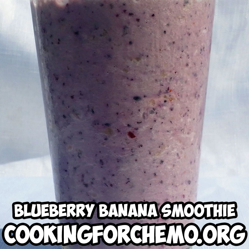 blueberry banana smoothie picture