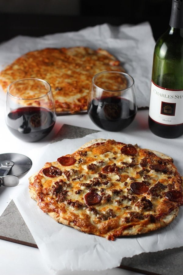 St. Louis Style Pizza with Provel Cheese from Cooking for Keeps
