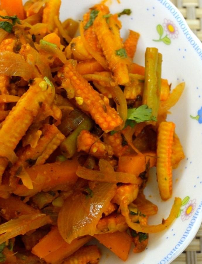 Vegetable Jalfrezi