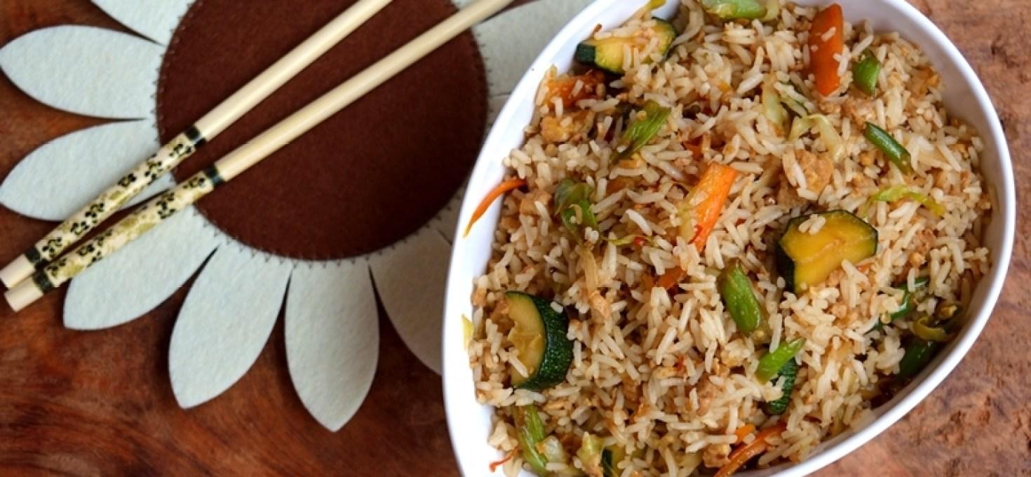 Veg/Egg Thai Fried Rice