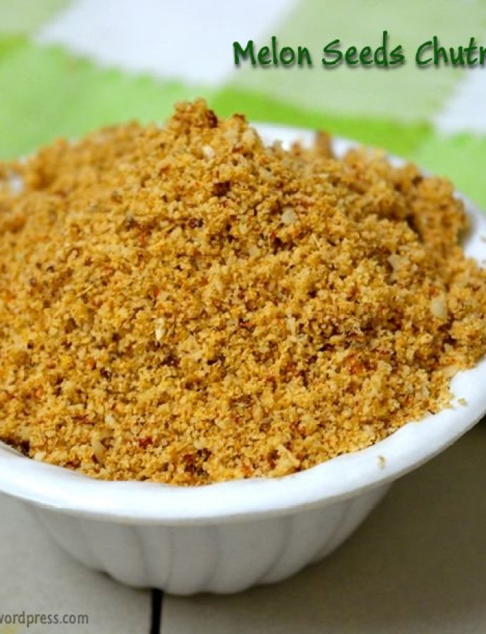 Melon Seeds Idli Podi | Chutney Powder